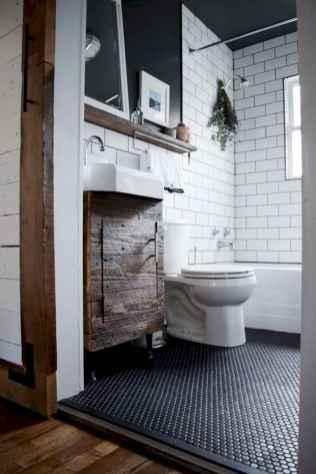 125 Brilliant Farmhouse Bathroom Vanity Remodel Ideas (86)