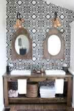 125 Brilliant Farmhouse Bathroom Vanity Remodel Ideas (9)