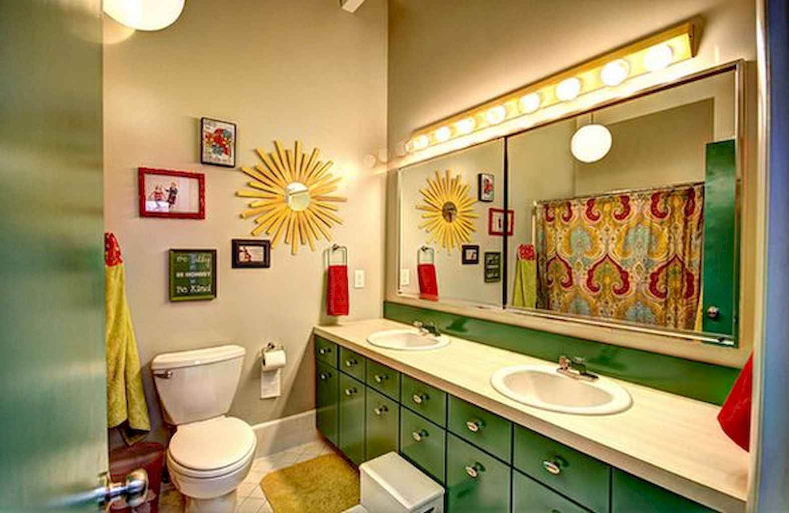 55 Cool and Relax Bathroom Decor Ideas (24)