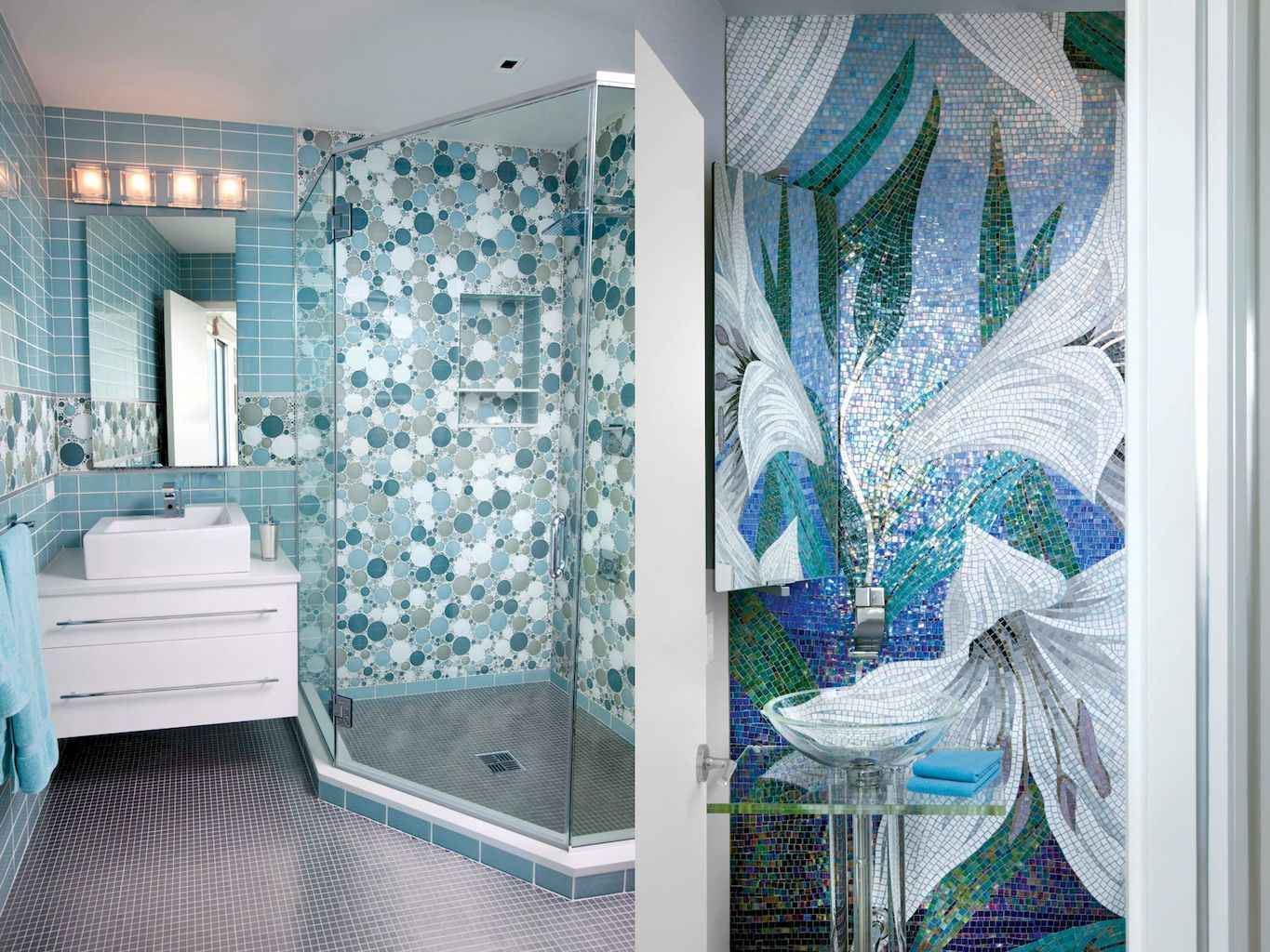 55 Cool and Relax Bathroom Decor Ideas (46)