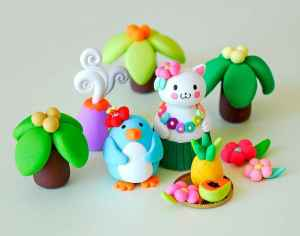 70 Easy To Try DIY Polymer Clay Figure Ideas (24)