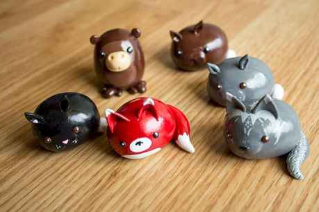70 Easy To Try DIY Polymer Clay Figure Ideas (51)