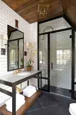 80 Awesome Farmhouse Tile Shower Decor Ideas (35)
