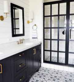 80 Awesome Farmhouse Tile Shower Decor Ideas (65)
