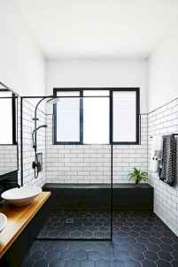 80 Awesome Farmhouse Tile Shower Decor Ideas (7)