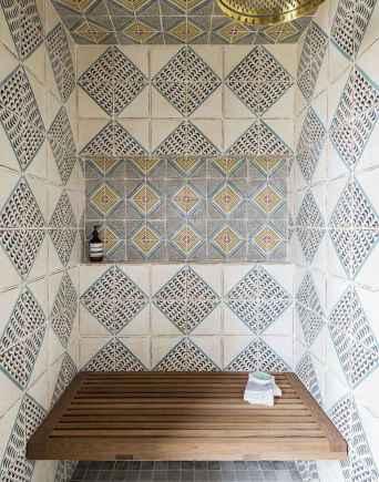 80 Awesome Farmhouse Tile Shower Decor Ideas (79)