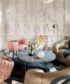 80 Elegant Harmony Interior Design Ideas For First Couple (24)
