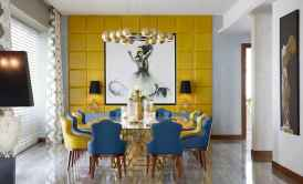 80 Elegant Harmony Interior Design Ideas For First Couple (39)