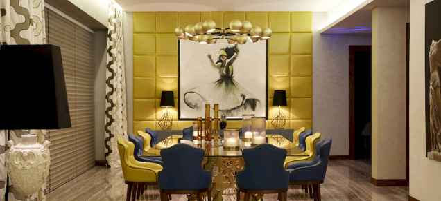 80 Elegant Harmony Interior Design Ideas For First Couple (40)