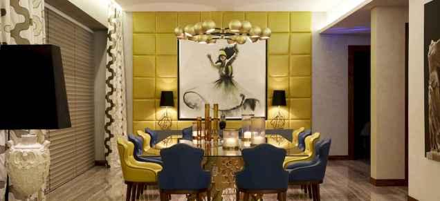 80 Elegant Harmony Interior Design Ideas For First Couple (40)