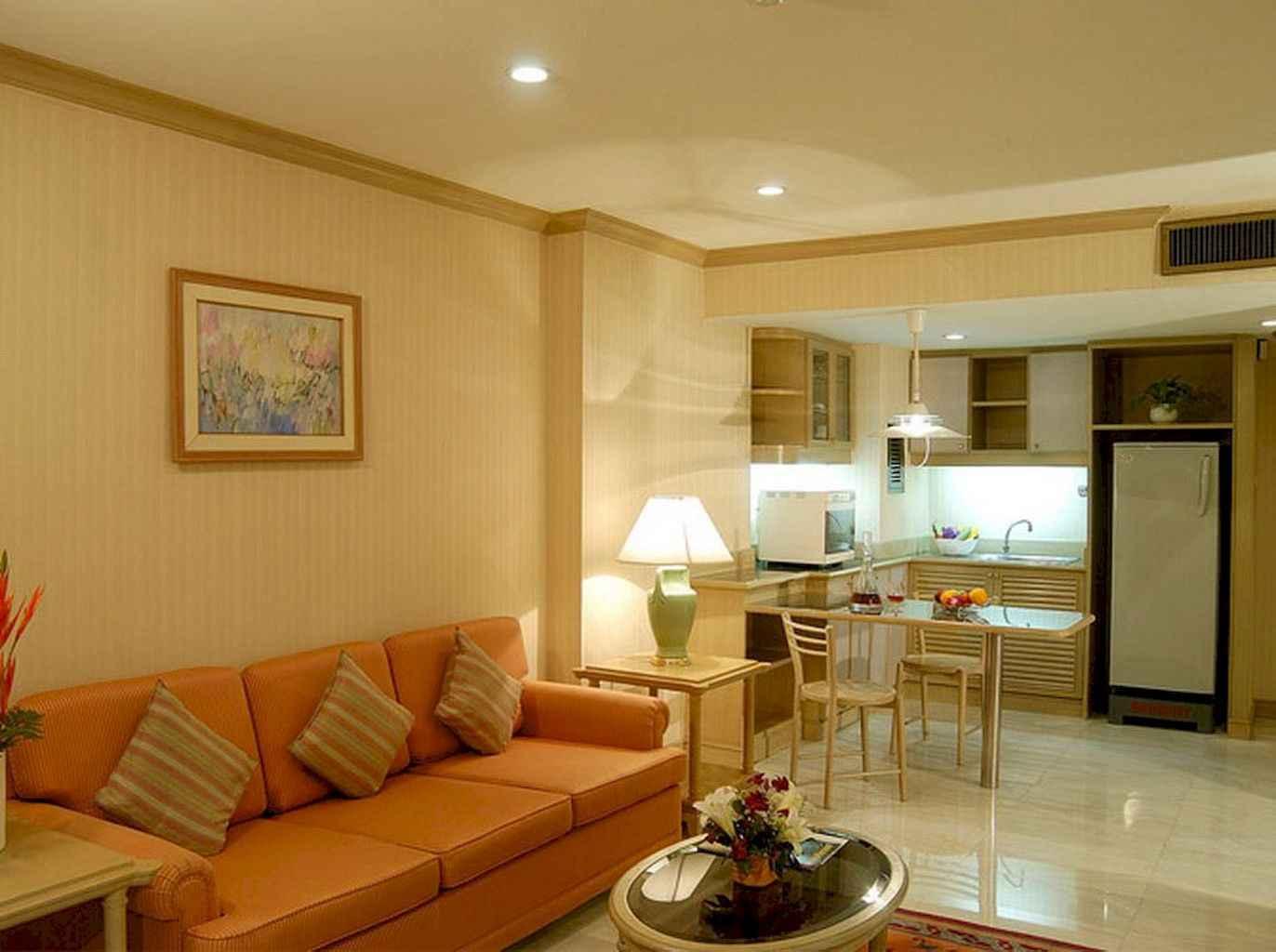 80 Elegant Harmony Interior Design Ideas For First Couple (44)