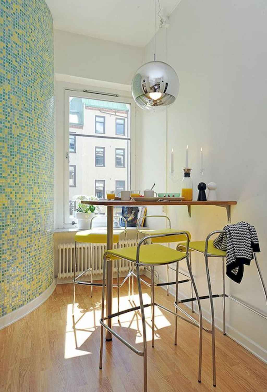 80 Stunning Apartment Dining Room Decor Ideas (20)