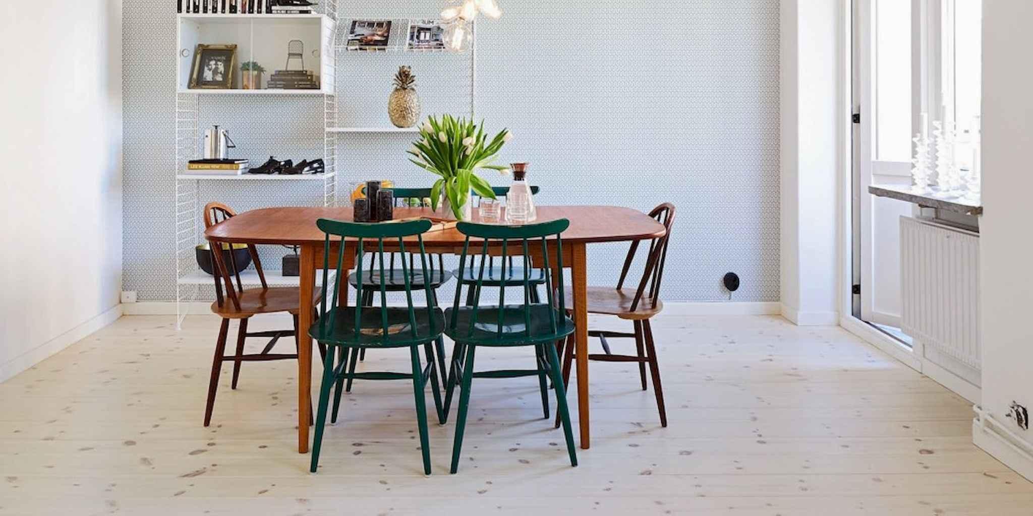 80 Stunning Apartment Dining Room Decor Ideas (52)