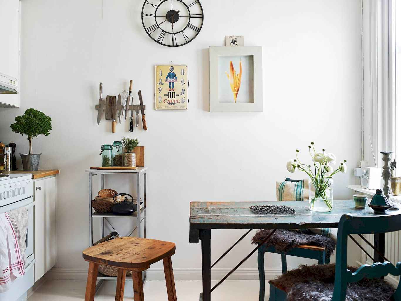 80 Stunning Apartment Dining Room Decor Ideas (54)