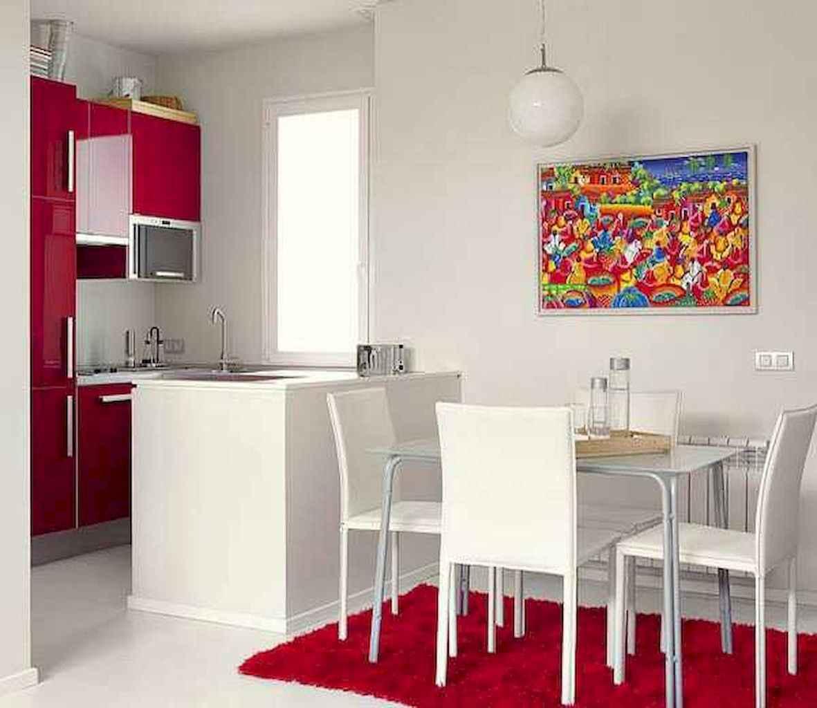 80 Stunning Apartment Dining Room Decor Ideas (57)