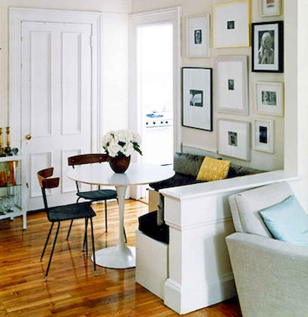 80 Stunning Apartment Dining Room Decor Ideas (59)