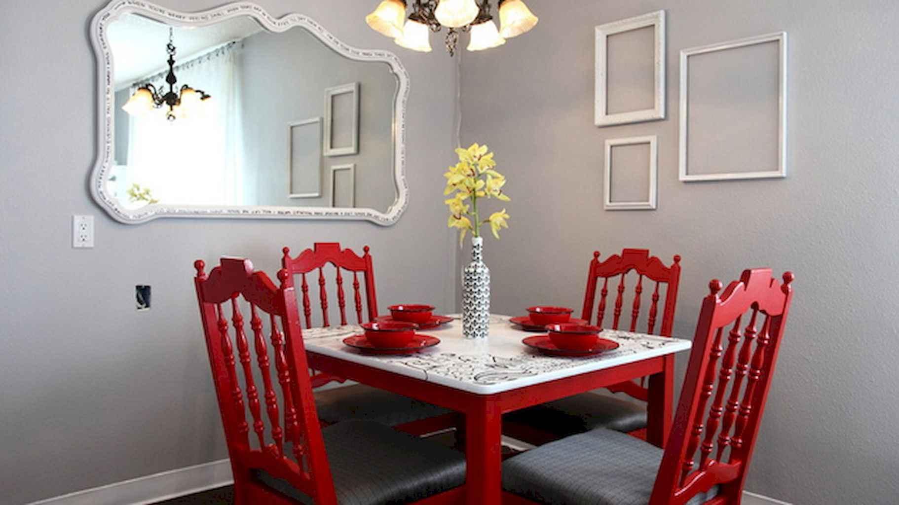 80 Stunning Apartment Dining Room Decor Ideas (60)