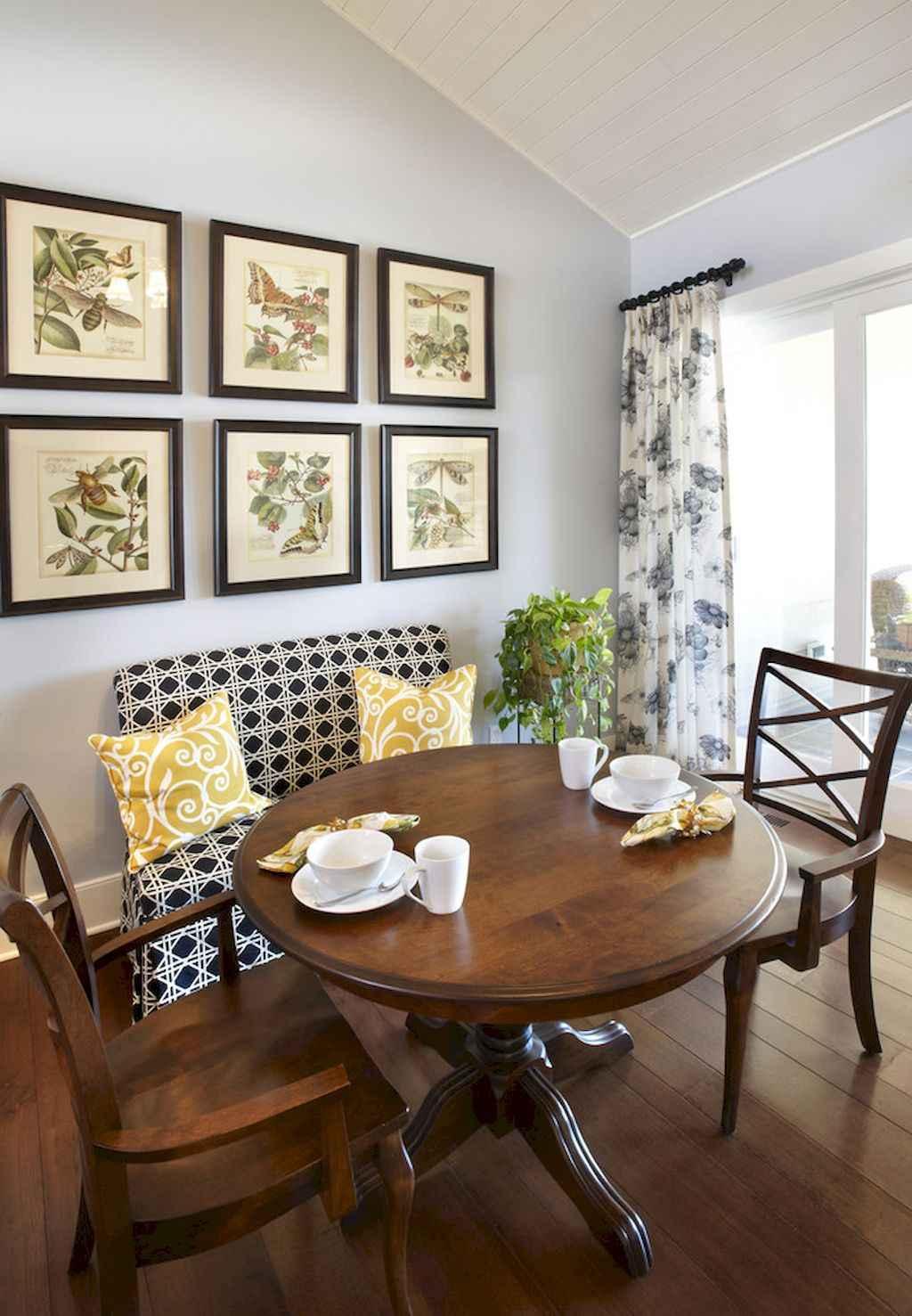 80 Stunning Apartment Dining Room Decor Ideas (68)