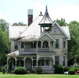 80 Stunning Victorian Farmhouse Plans Design Ideas (35)