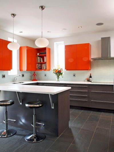 Top 40 Colorful Kitchen Cabinet Remodel Ideas For First Apartment (2)