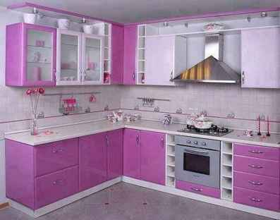 Top 40 Colorful Kitchen Cabinet Remodel Ideas For First Apartment (30)