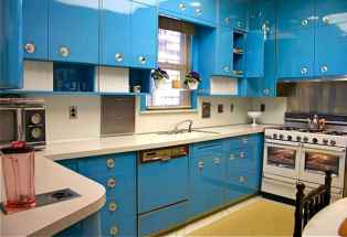 Top 40 Colorful Kitchen Cabinet Remodel Ideas For First Apartment (6)