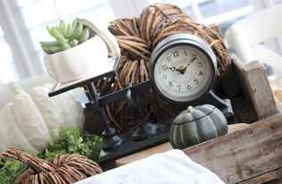 33 Best Industrial Farmhouse Clock Design Ideas (22)