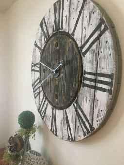 33 Best Industrial Farmhouse Clock Design Ideas (24)