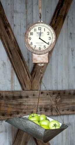 33 Best Industrial Farmhouse Clock Design Ideas (32)