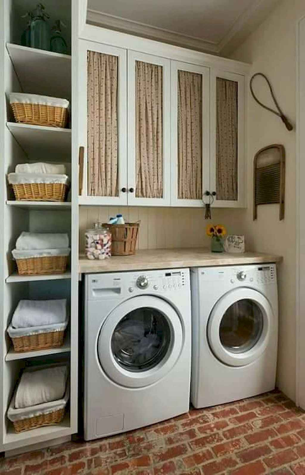 45 Rustic Farmhouse Laundry Room Design Ideas and Makeover (21)