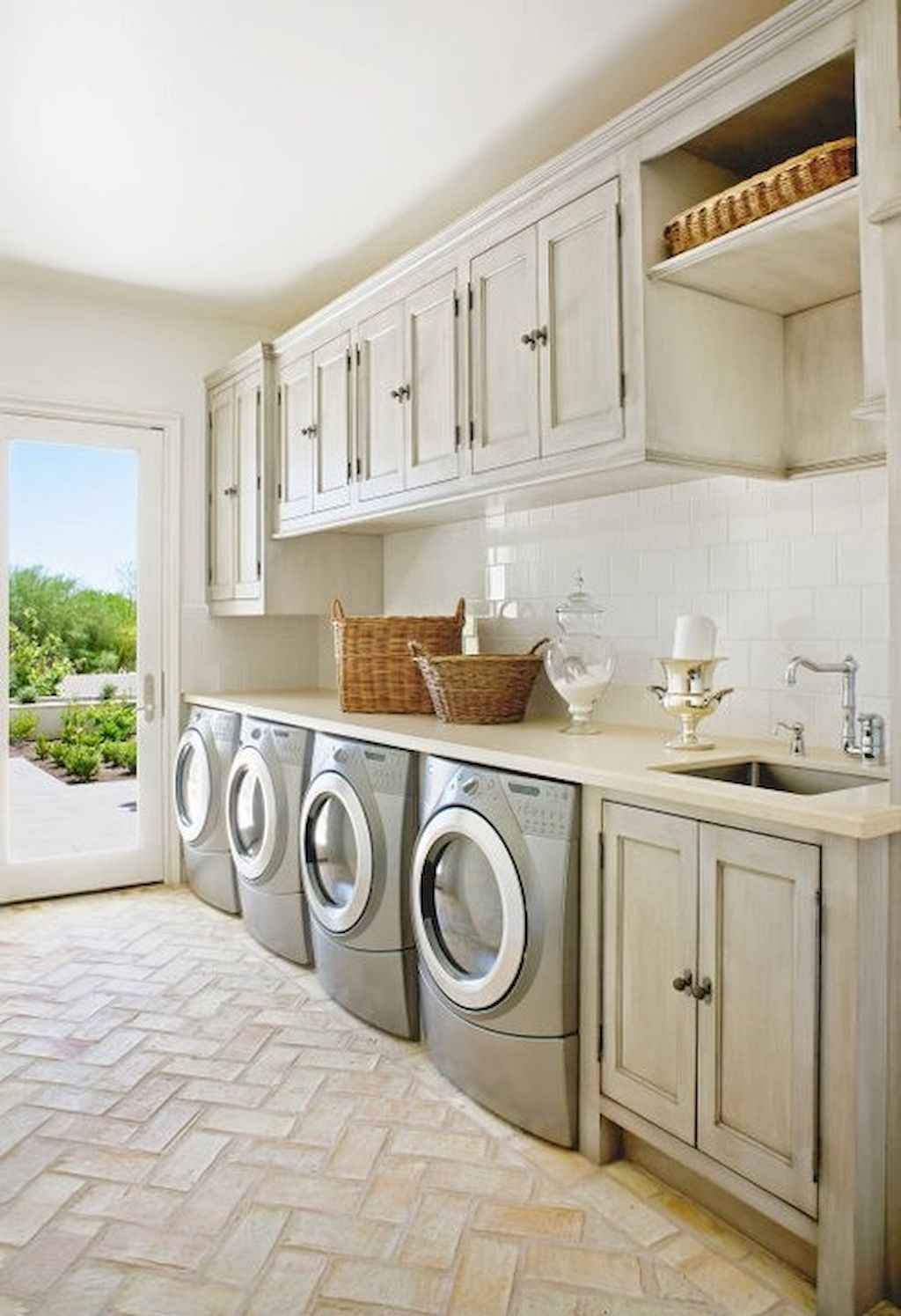 45 Rustic Farmhouse Laundry Room Design Ideas and Makeover (35)