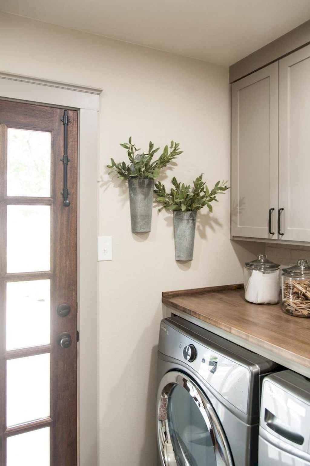 45 Rustic Farmhouse Laundry Room Design Ideas and Makeover (38)