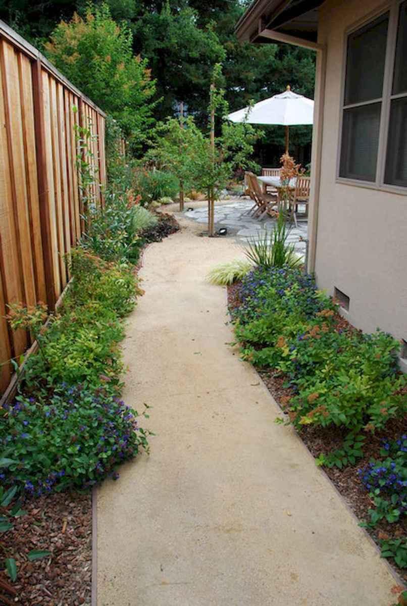 55 Beautiful Side Yard Garden Design Ideas (19)