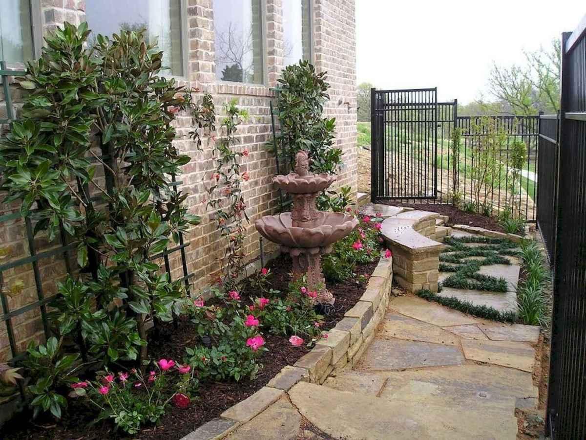 55 Beautiful Side Yard Garden Design Ideas (36)