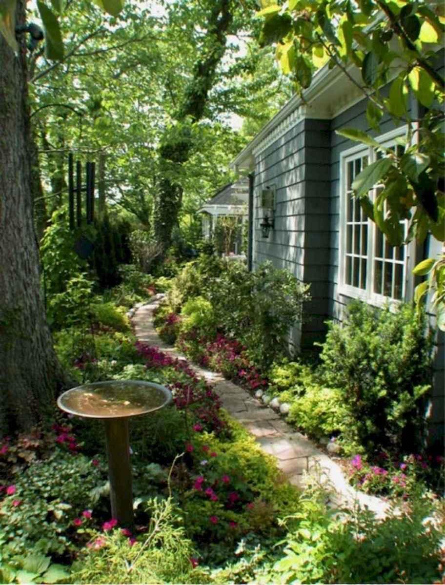 55 Beautiful Side Yard Garden Design Ideas (49)