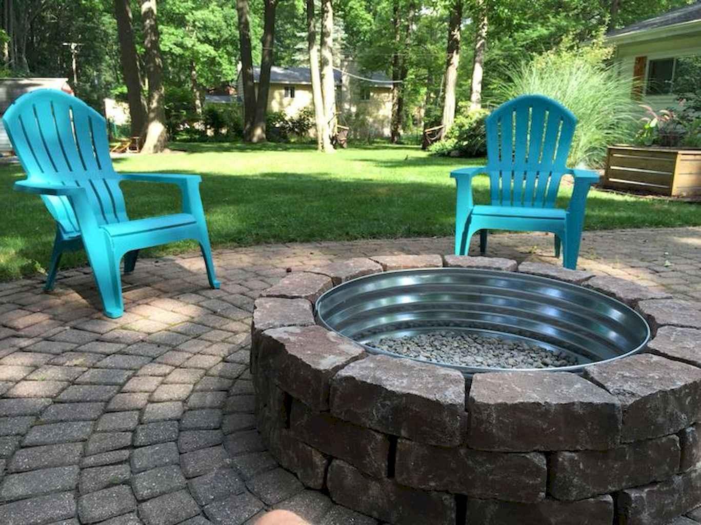 60 Beautiful Backyard Fire Pit Ideas Decoration and Remodel (19)