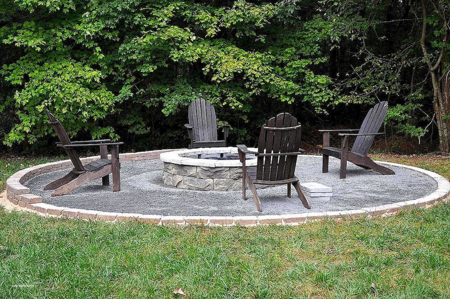 60 Beautiful Backyard Fire Pit Ideas Decoration and Remodel (22)