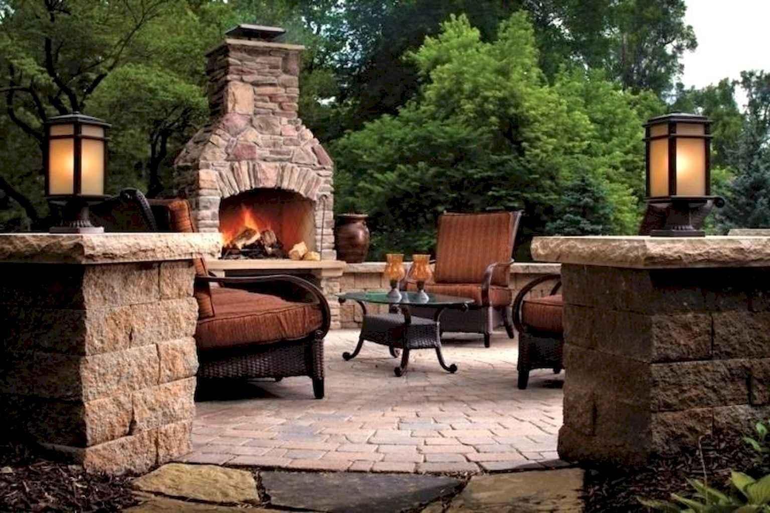 60 Beautiful Backyard Fire Pit Ideas Decoration and Remodel (26)
