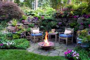 60 Beautiful Backyard Fire Pit Ideas Decoration and Remodel (33)
