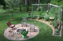 60 Beautiful Backyard Fire Pit Ideas Decoration and Remodel (5)