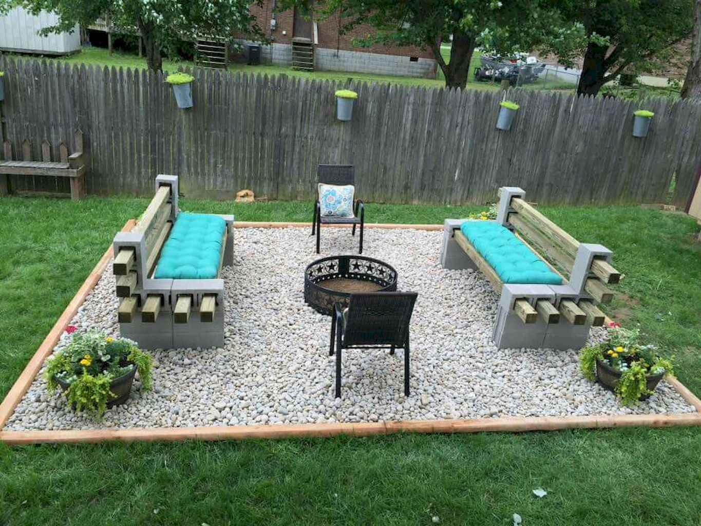 60 Beautiful Backyard Fire Pit Ideas Decoration and Remodel (6)