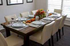 60 Rustic Farmhouse Dining Room Table Decor Ideas and Makeover (37)