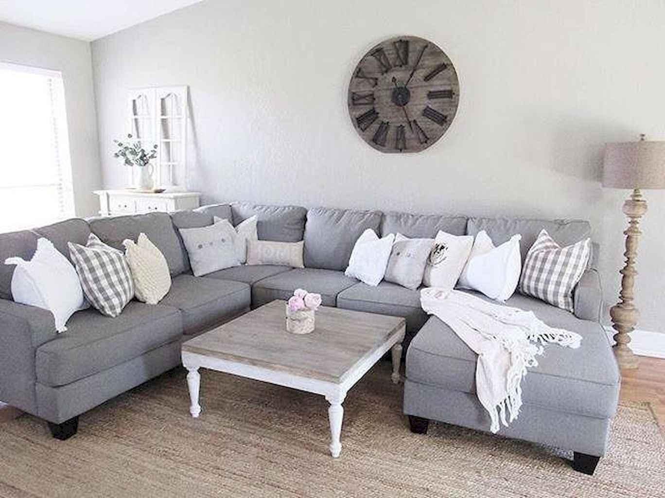 70 Rustic Farmhouse Living Room Decor Ideas (2)