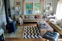 70 Rustic Farmhouse Living Room Decor Ideas (38)
