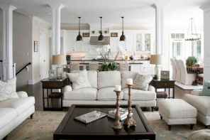 70 Rustic Farmhouse Living Room Decor Ideas (43)