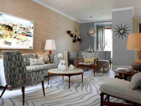 70 Rustic Farmhouse Living Room Decor Ideas (47)