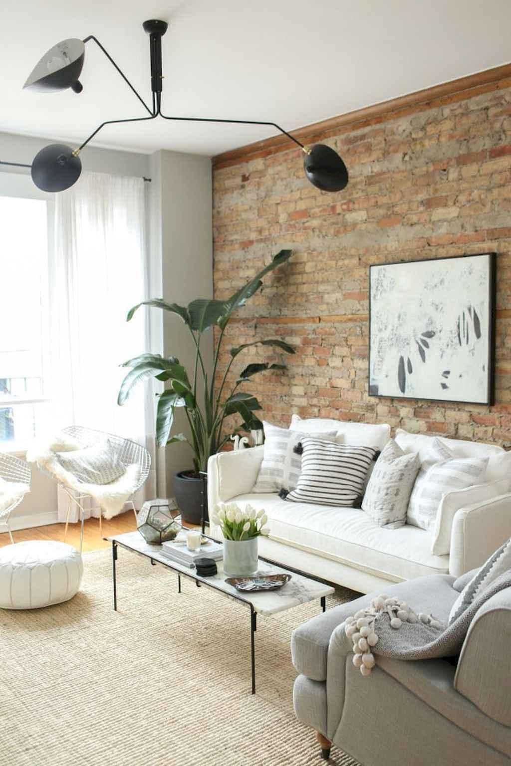 70 Rustic Farmhouse Living Room Decor Ideas (54)