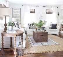 70 Rustic Farmhouse Living Room Decor Ideas (9)