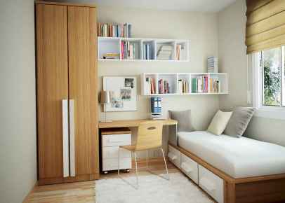 78 Best Small Bedroom Design And Decor Ideas (18)