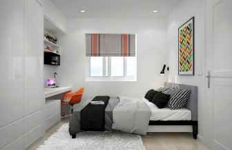 78 Best Small Bedroom Design And Decor Ideas (68)